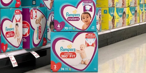 Pampers Diapers Super Pack Boxes Only $13.49 Each After Cash Back & Target Gift Card