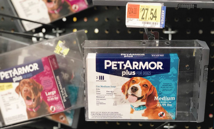 PetArmor Plus for Dogs in the store
