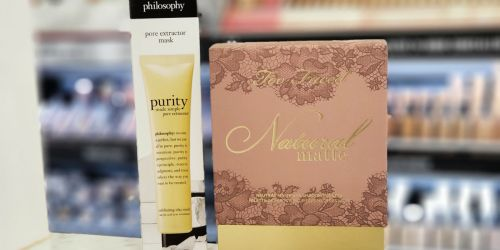 50% Off Too Faced Eye Shadow Palette & philosophy Purity Mask + FREE Shipping