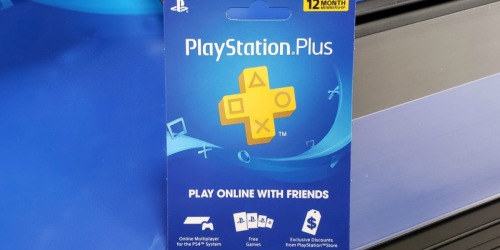 PlayStation Plus 1-Year Membership Only $38.99 Shipped (Regularly $60)