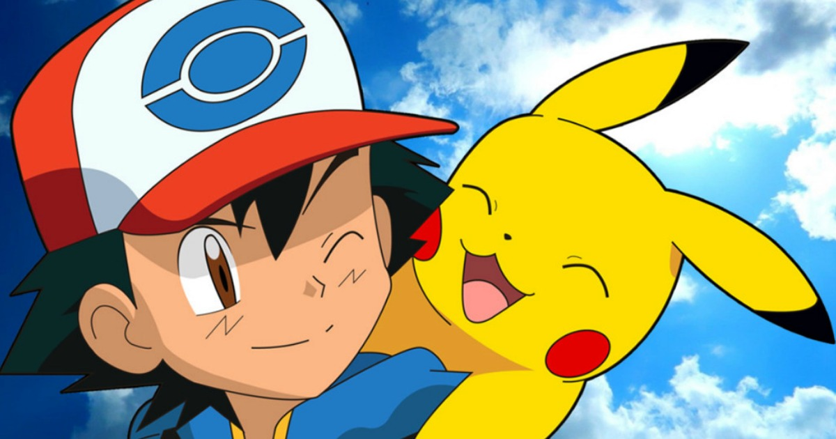 Ash Ketchum with Pikachu from Pokemon