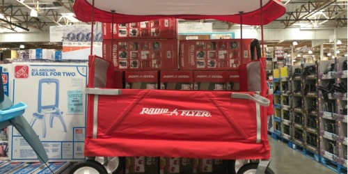 Radio Flyer 3-in-1 Wagon with Canopy Just $78 Shipped (Regularly $130) | Great Reviews