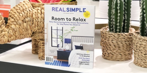 FREE 1-Year Real Simple Magazine Subscription ($60 Value!)