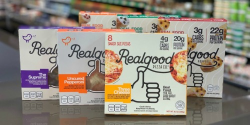 It's Pizza Night! Score Real Good Foods Low-Carb Pizzas for Only 49¢ Each at Kroger