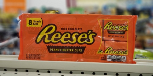 Hershey's 8-Pack Snack Size Candy Bars Only 88¢ After CVS Rewards