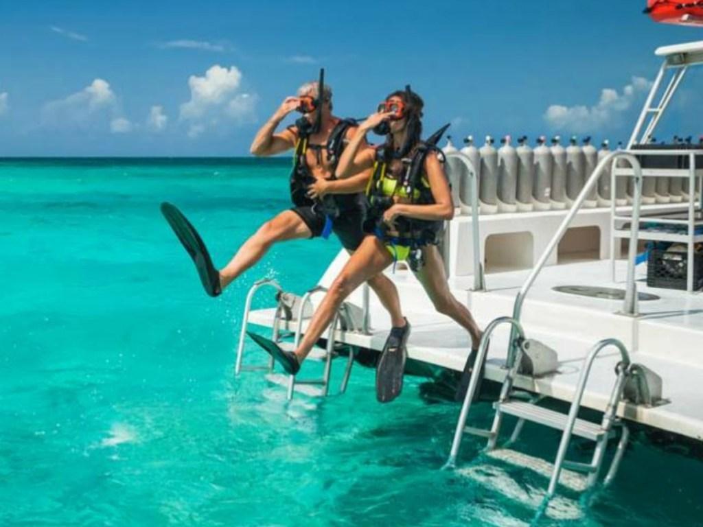 sandals resort scuba diving