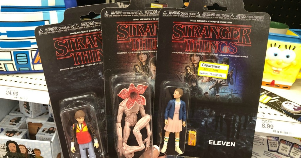 stranger things collectible action figures on clearance at target