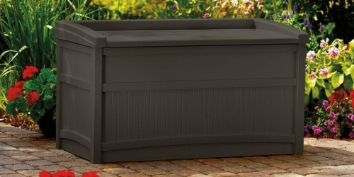 Suncast 50-Gallon Deck Box Only $59.98 Shipped