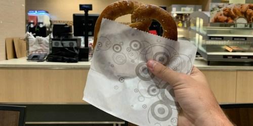 25% Off Target Café Pretzel (Just Use Your Phone)