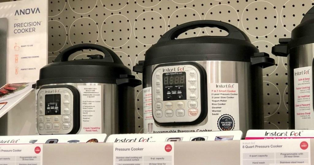 instant pot duo pressure cooker at target