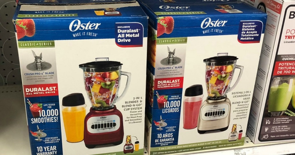 oster classic series blender on display at target