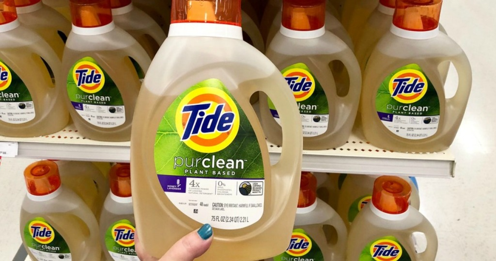 tide purclean laundry detergent at target