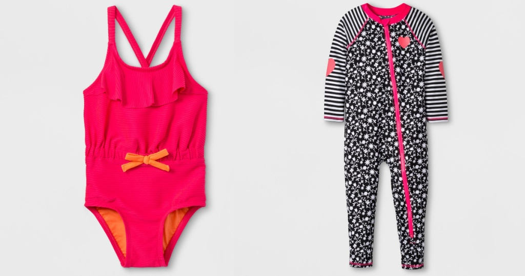 target toddler girls swimwear