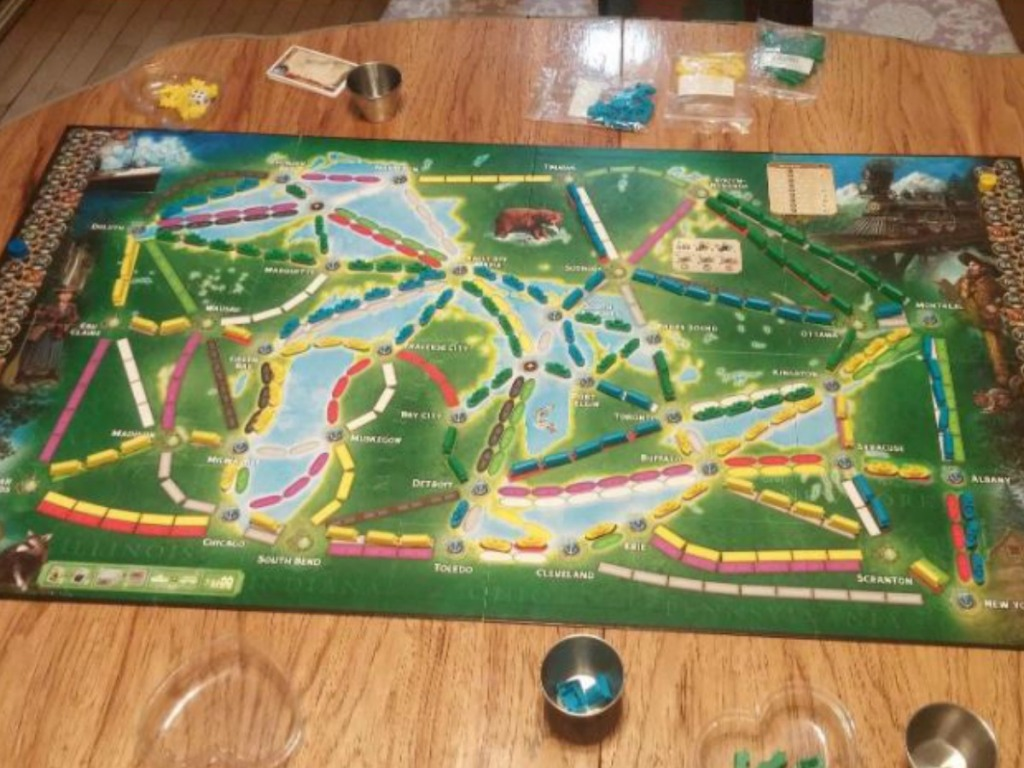Ticket To Ride Rails Sails Board Game Only 40 Shipped Regularly