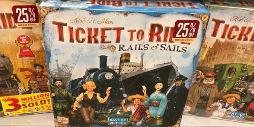 Ticket To Ride Rails & Sails Board Game Only $40 Shipped (Regularly $80)