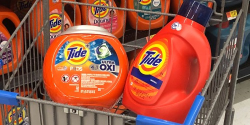 This High Value $3/1 Tide Coupon Makes for a HOT Deal at Walmart
