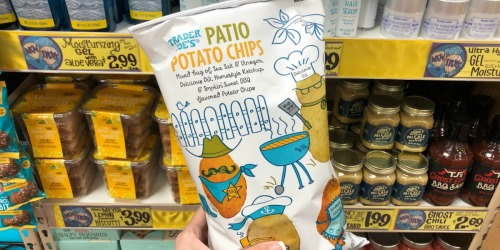Trader Joe's Patio Potato Chips Give You 4 Flavors in One Bag (+ More New Items)