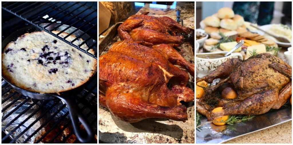 3 foods cooked on the traeger