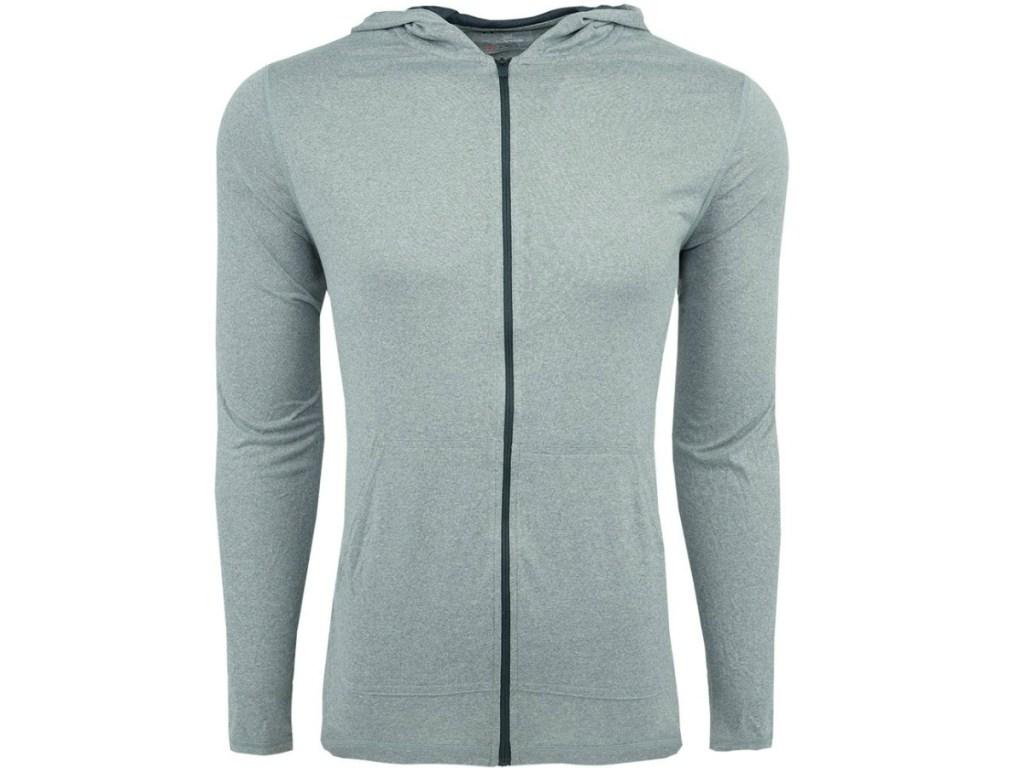 men's lightweight jacket with long sleeps and zipper