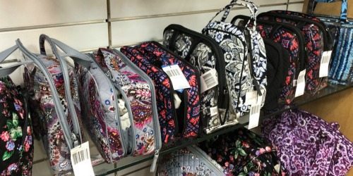 Up To 75% Off Vera Bradley Bags + FREE Shipping