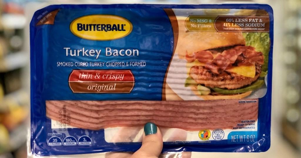 butterball turkey bacon at walgreens