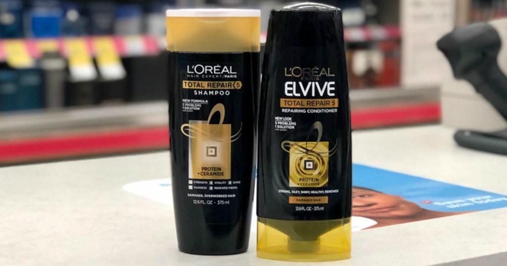 l'oreal elvive shampoo and conditioner at walgreens