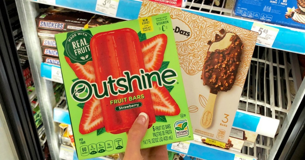 ousthine and haagen-dazs bars at walgreens