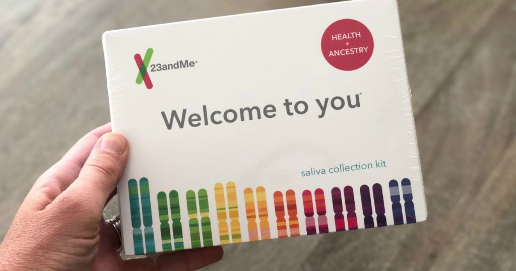 23andME DNA Kit Health + Ancestry