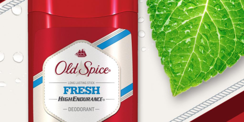 Amazon: 3-Pack Old Spice Aluminum Free Deodorant Only $4.49