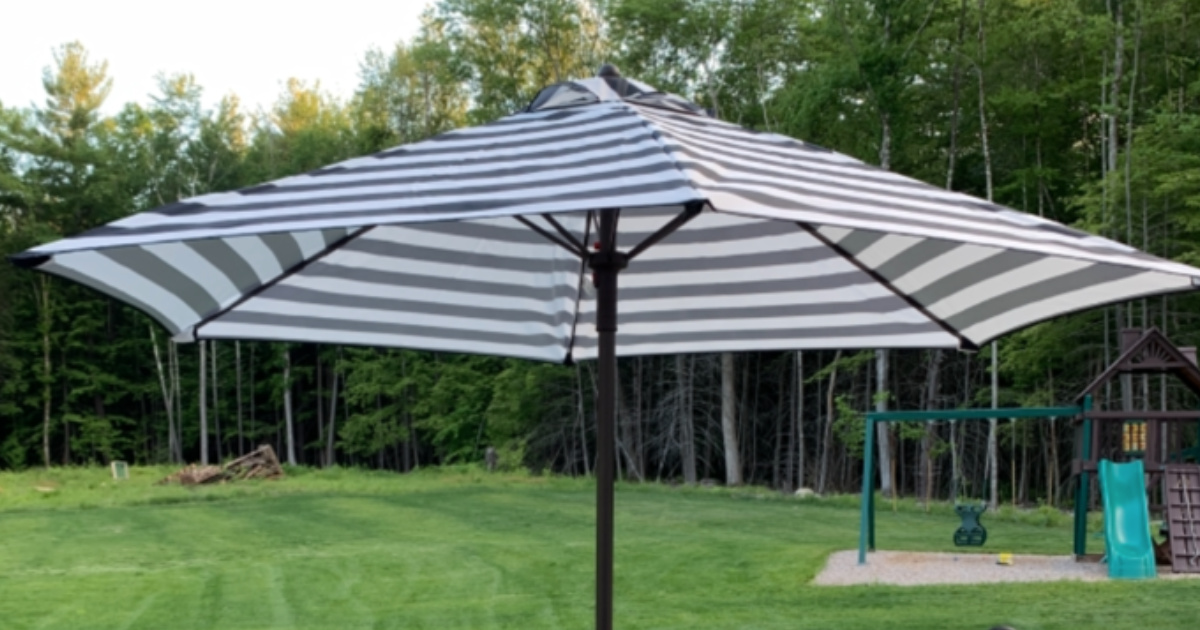 7' Chili Steel Umbrella Pier 1