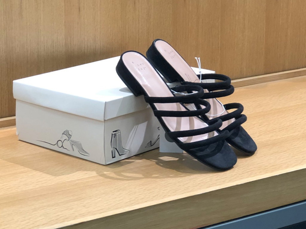 A New Day Women's Sophia Strappy Slide Sandals