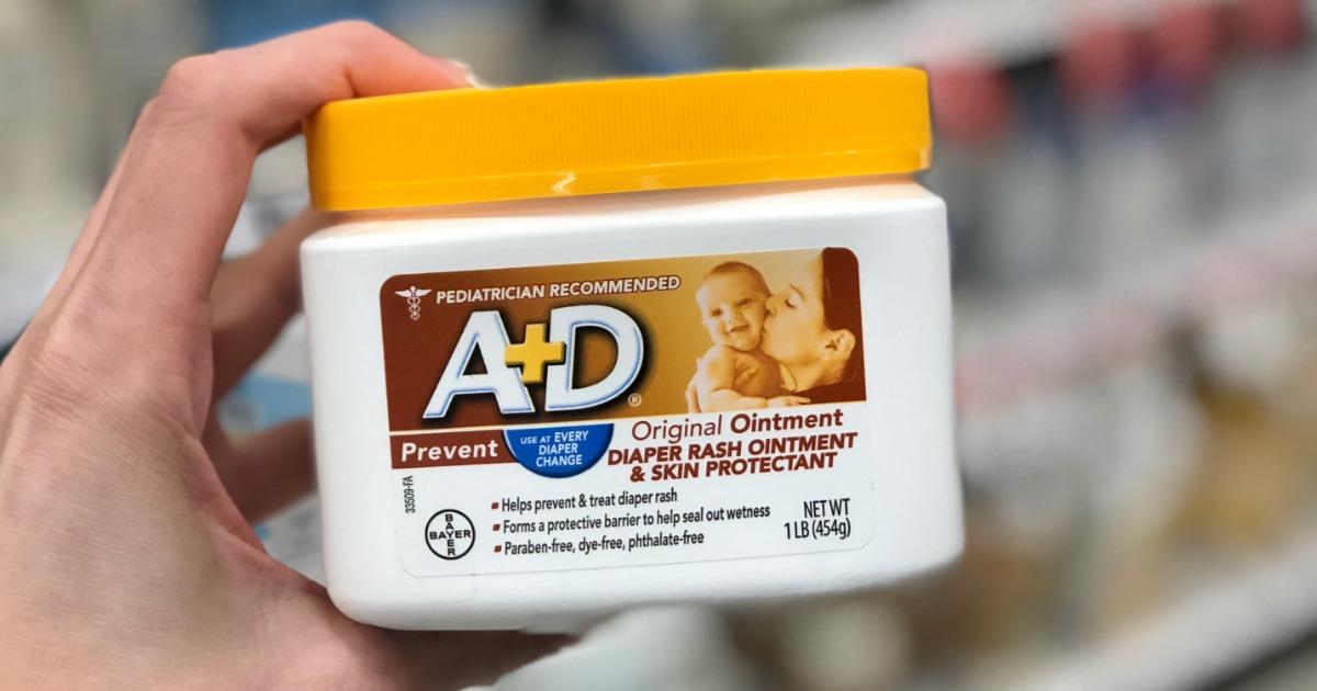 A+D Ointment Jar