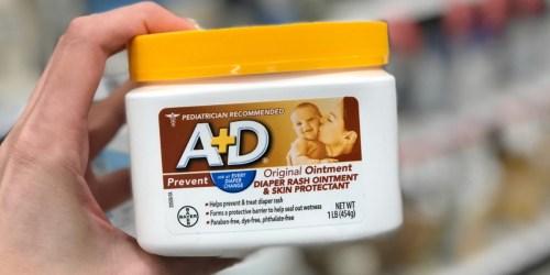 Amazon Prime | A+D Original Diaper Rash Ointment 1-Pound Jar Only $5.42 Shipped