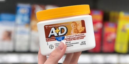 A+D Original Diaper Rash Ointment 1 Pound Jar Only $5.42 Shipped on Amazon