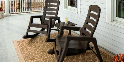 50% Off Stackable Outdoor Chairs & Rockers at Lowe's