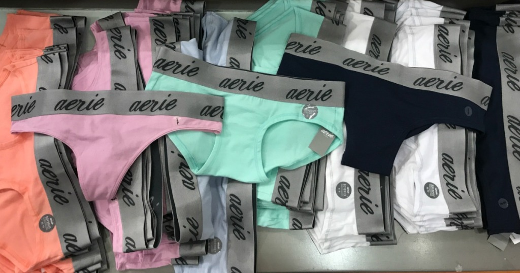10 Pairs Of Aerie Underwear Only 25 Shipped Just 2 50 Each
