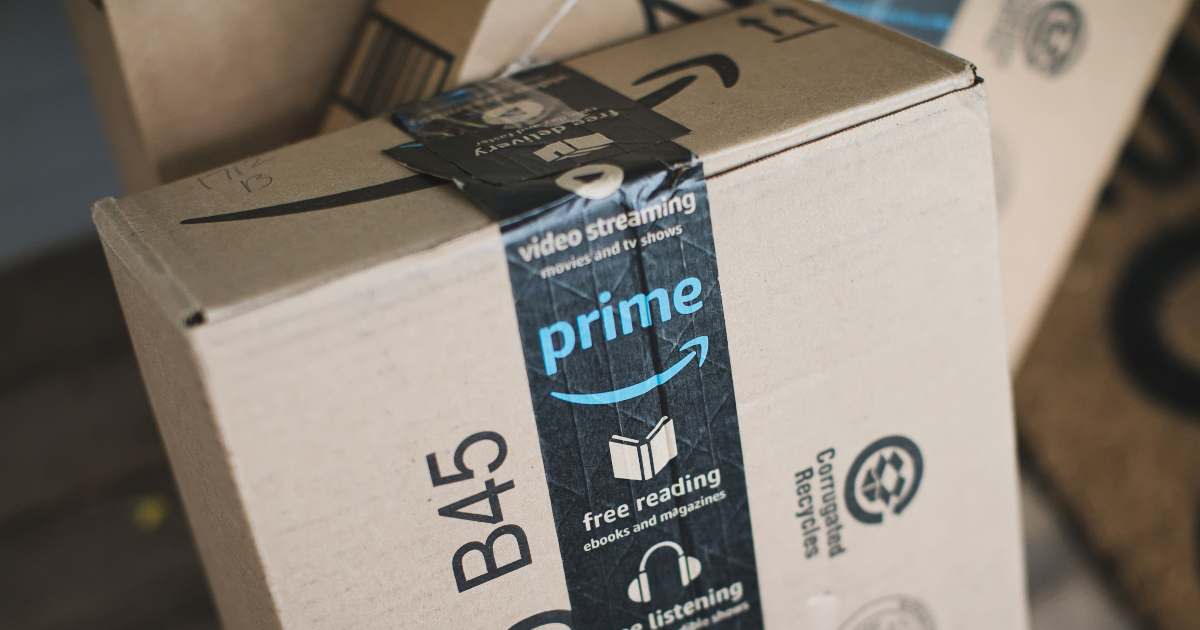 collection of Prime boxes from Amazon
