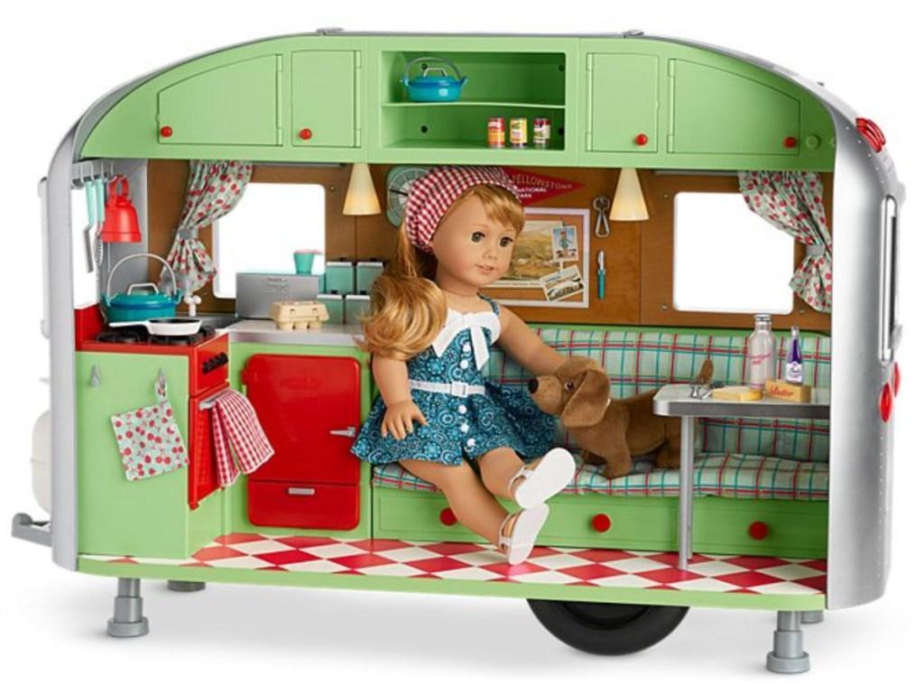 American Girl Doll Maryellens Camper