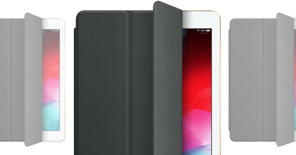 Apple iPad smart cover with Apple iPad