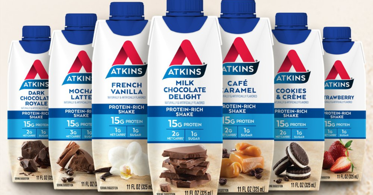 Atkins Protein Shakes 4-Pack Only $4.47 Shipped at Amazon ...