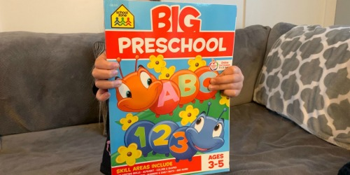 School Zone BIG Preschool Workbook Just $4.77 at Amazon | Awesome Reviews