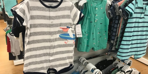 Carter's Baby Rompers Only $3.66 Shipped for Kohl's Cardholders + More