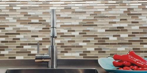 Up to 35% Off Peel & Stick Backsplash Tiles at Home Depot