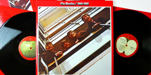 The Beatles Red Edition Double Vinyl Only $17 (Regularly $27)