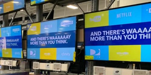 Sharp 50″ LED Roku Smart TV + Google Nest Mini Only $199.99 Shipped at Best Buy (Regularly $400)