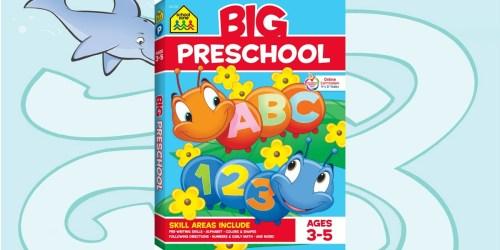 School Zone Big Preschool Workbook Only $5 (Alphabet, Numbers, Colors & More)