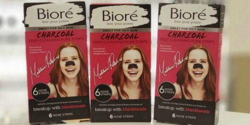 Bioré Pore Strips Only $1.39 Each After Target Gift Card + More Skincare Deals