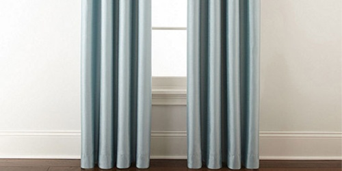 JCPenney Home Blackout Curtain Panels Only $9.60 (Regularly $60)