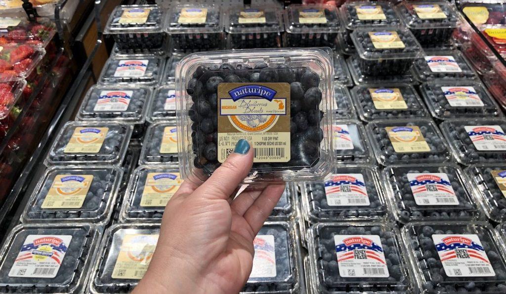 Blueberries at Target