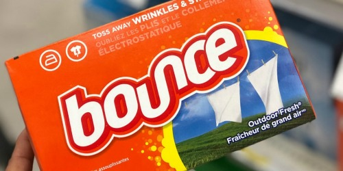Bounce Dryer Sheets 120-Count Only $2.74 Shipped on Amazon + More
